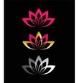 Lotus Flower design vector image