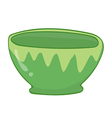 bowl vector image