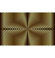 Golden stripes vector image