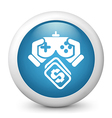 Video Game Purchase Icon vector image