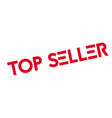 top seller rubber stamp vector image vector image