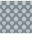 Baroque blue and beige background vector image
