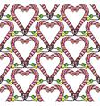 Seamless heart pattern3 vector image