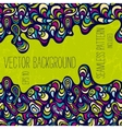 Hand-drawn abstract background vector image vector image