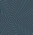 Moire pattern op art background Relaxing hypnotic vector image