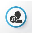 artists icon symbol premium quality isolated vector image