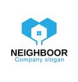 Neighboor Design vector image