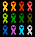 Ribbon Symbols vector image