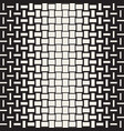 seamless geometric pattern halftone vector image