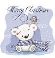 Cute Polar Bear vector image