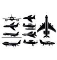 planes icon vector image