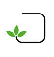 Eco friendly logo concept vector image vector image