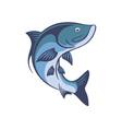 fish tarpon vector image vector image