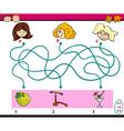 find path task for children vector image