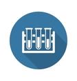 Laboratory Icon Flat Design vector image
