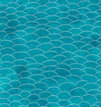 marine grunge seamless pattern vector image