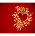 Heart To The StValentine vector image vector image