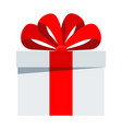 birthday gift icon vector image