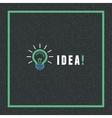 creative idea concept in flat style vector image