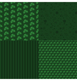 Patrick Day patterns vector image