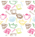 teapot seamless vector image