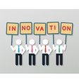 creative idea business concept vector image vector image
