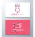 Love creative vector image vector image