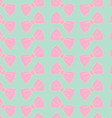 Beautiful seamless pattern with bows vector image