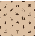 cleaning icons seamless pattern eps10 vector image