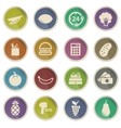 Grocery simply icons vector image