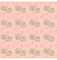 Spiral pastel seamless pattern vector image