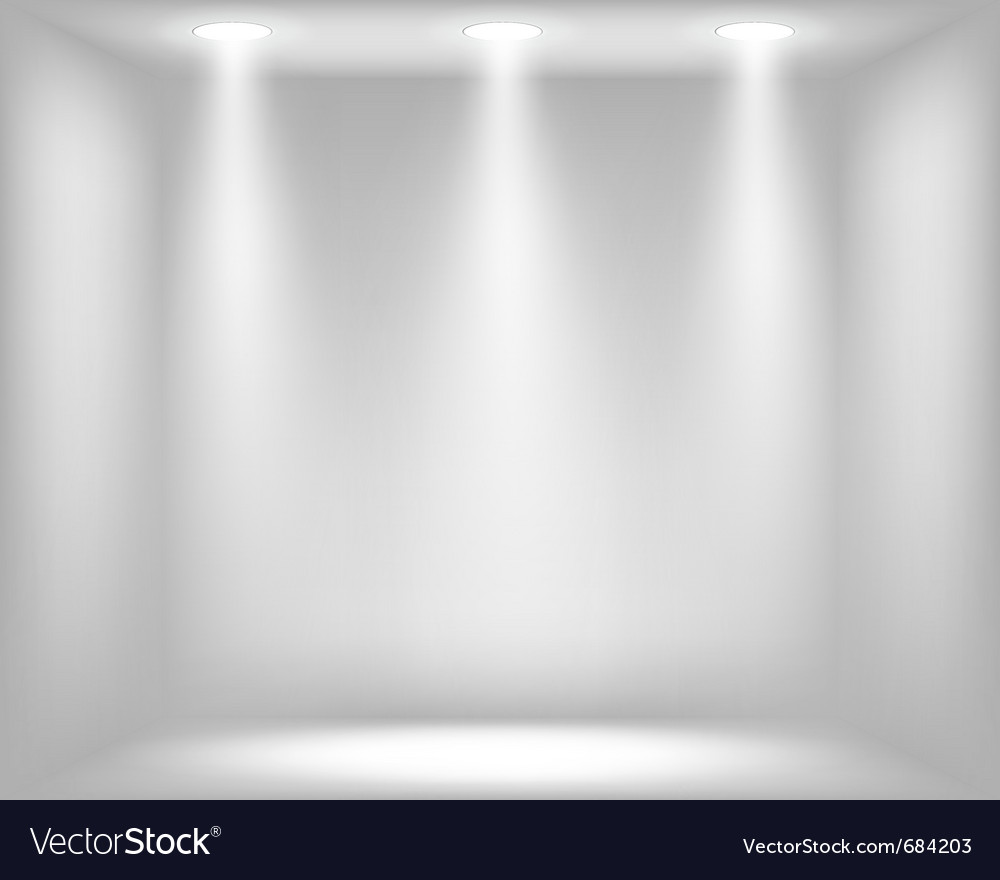 Abstract light grey background vector