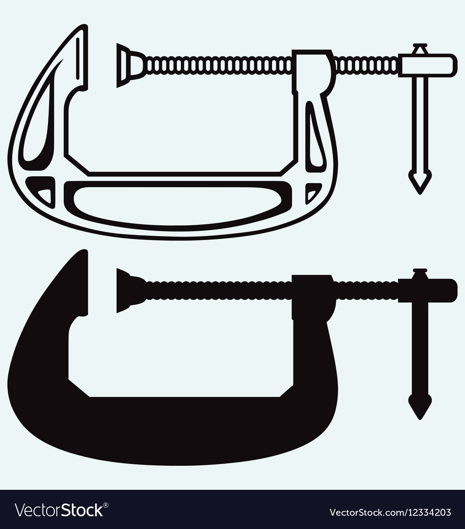 Clamp compression tool vector