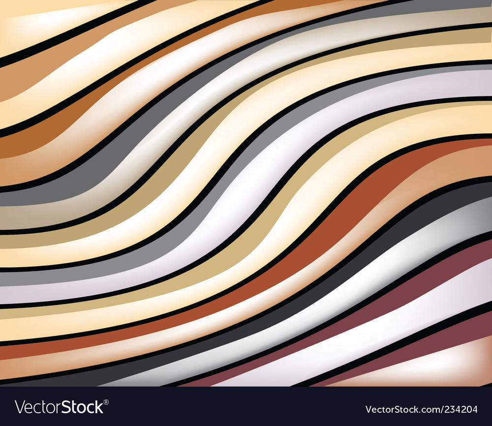 Glossy stripes vector
