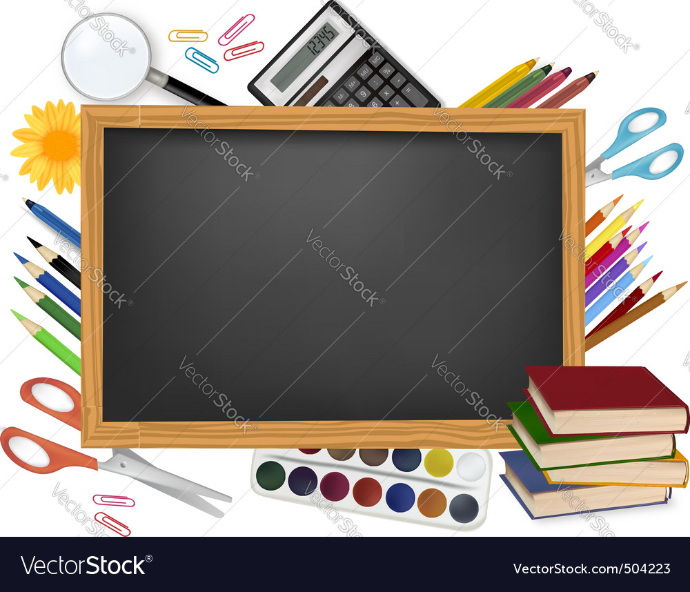 Design back to school vector