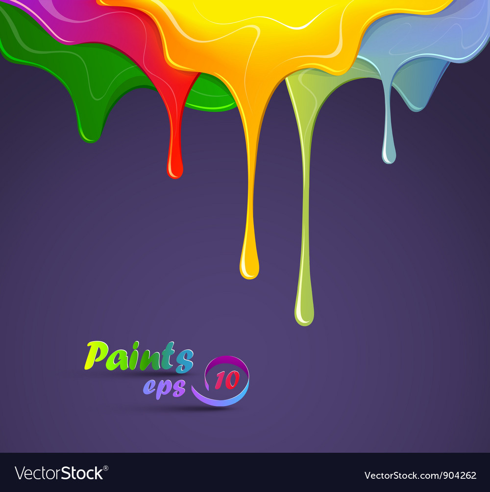 Paints vector