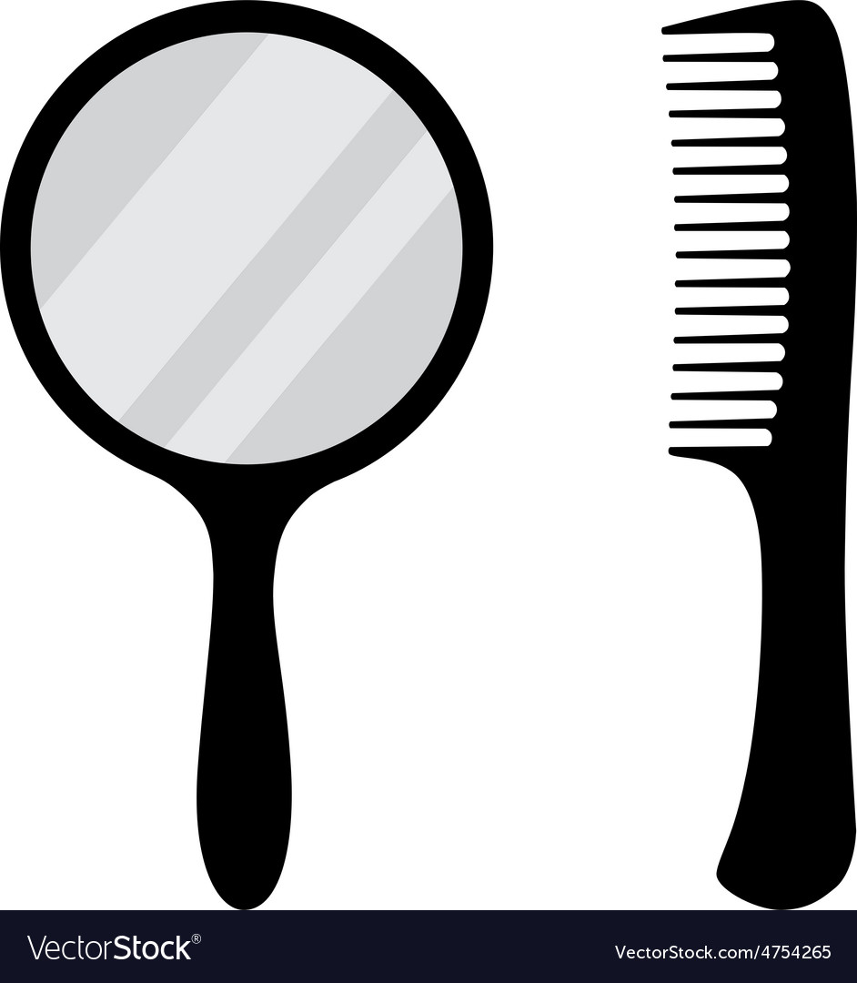 Mirror and comb vector