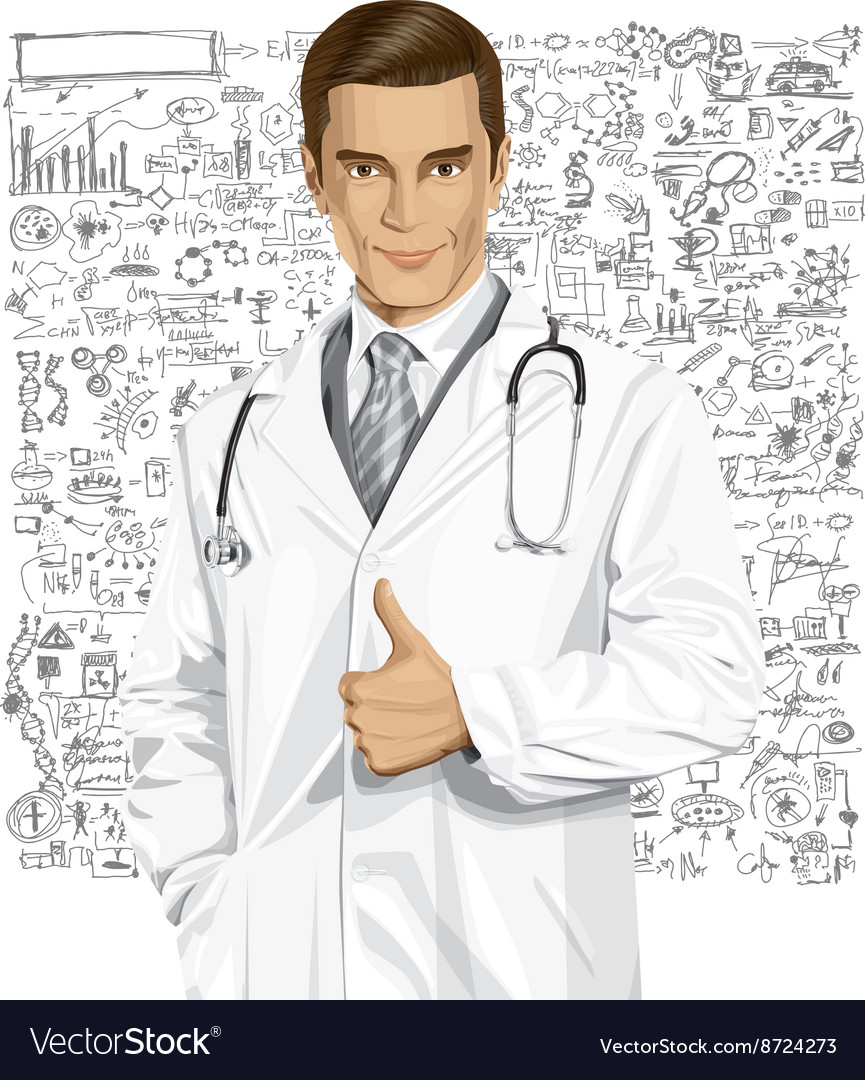 Physician vector