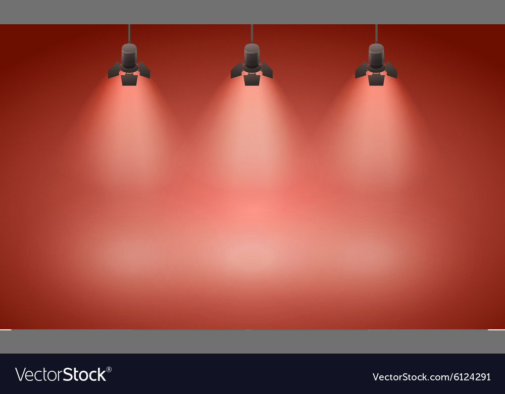 Empty wall vector