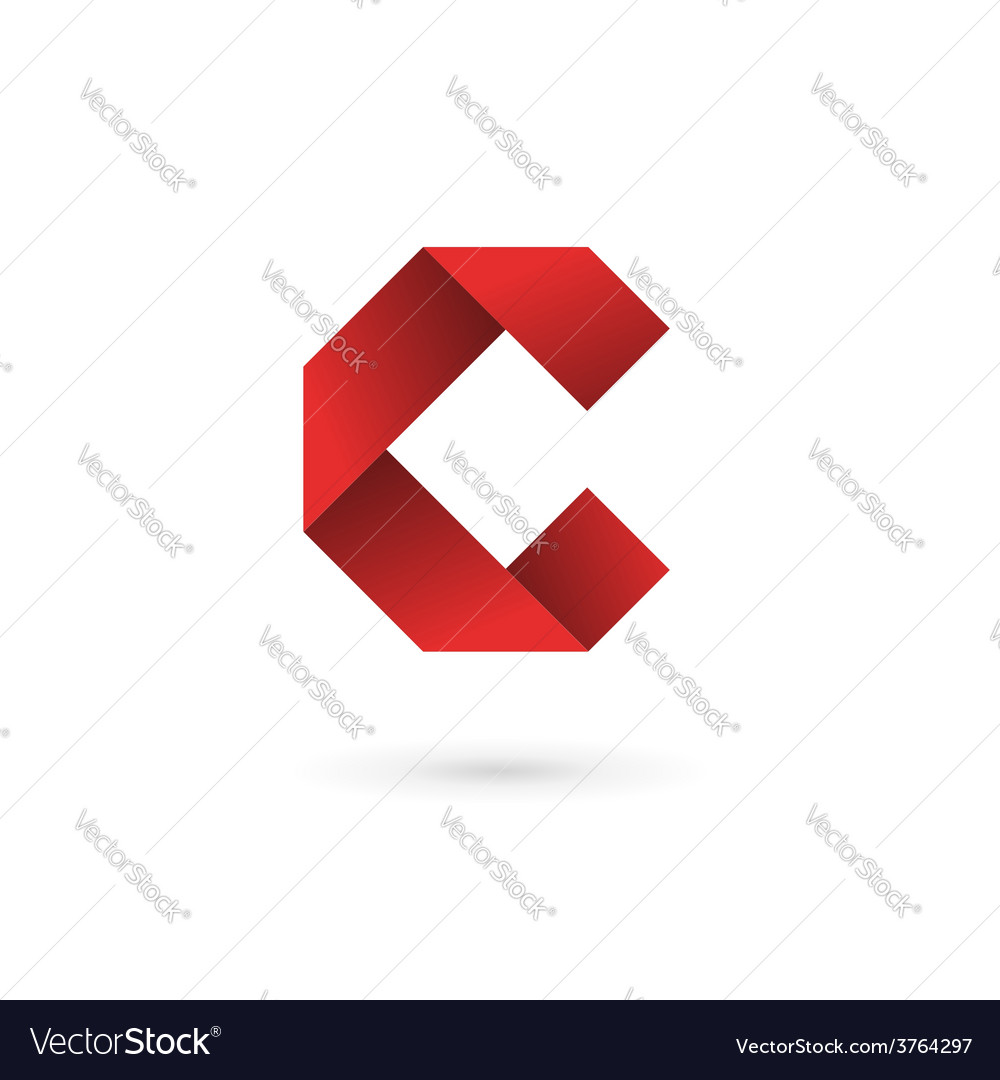 Letter c logo icon design template elements vector