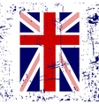 british flag cross white vector image