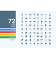 Set of gaming icons vector image