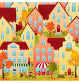 Autumn Town vector image