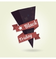 Black Friday object for website Template your vector image