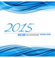 Blue Background 2015 vector image