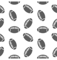 american football seamless pattern for boy Sports vector image