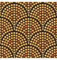 Antique mosaic seamless pattern vector image