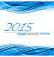 Blue Background 2015 vector image
