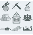 Woodworking vector image vector image