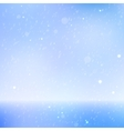 Abstract beautiful sea and sky background vector image